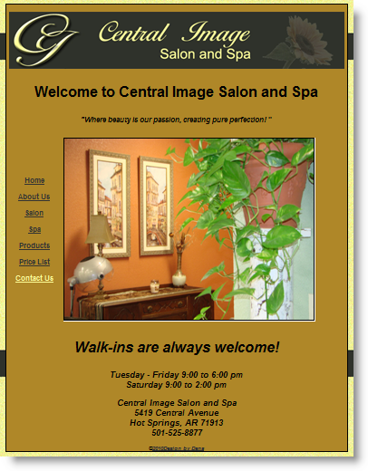 Central Image Salon and Spa